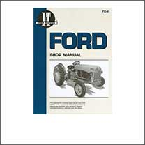 Manuals: Shop, Service, Repair for Ford 8N