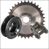 Chain/Sprockets/Pulleys/Hubs